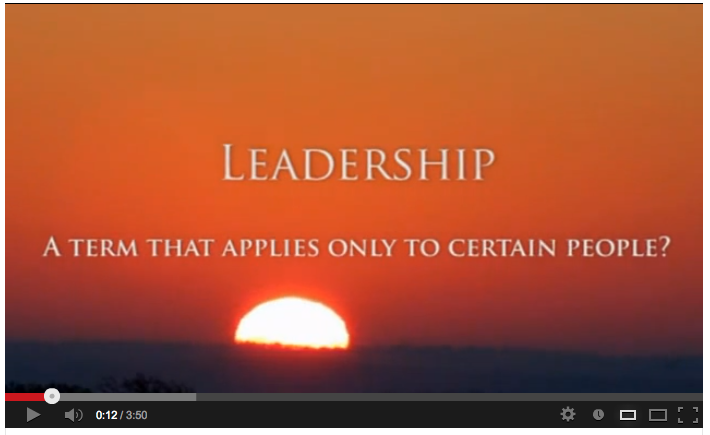 Video: Are you a leader? What kind of leader are you?