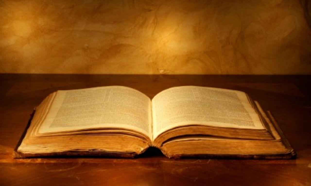 The Bible is a menu, not the food itself