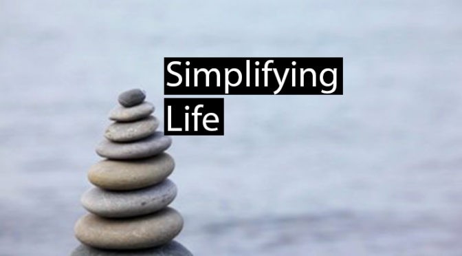 """Why """"Simplifying my Life"""" sounds like a good idea … but probably isn't"""